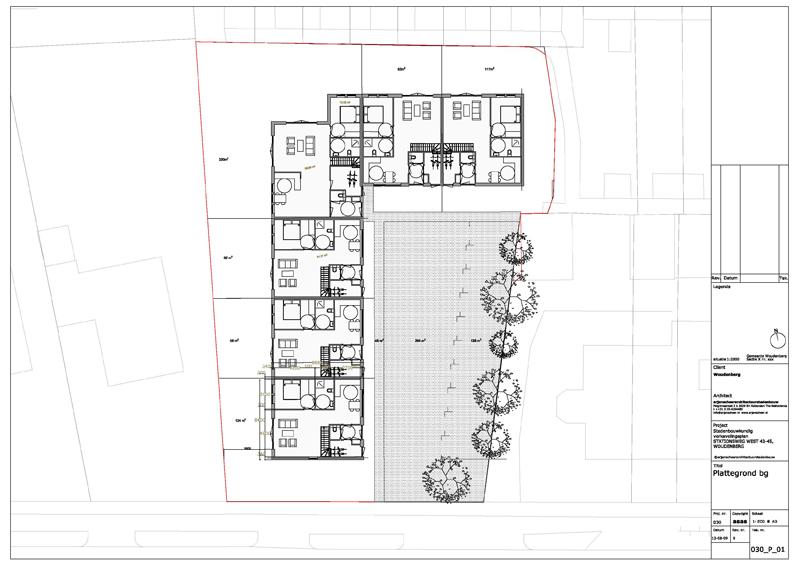 plattegrond architectuur