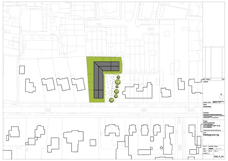 stedenbouwkundige plattegrond